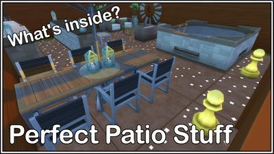 The sims 4| what's inside| The Perfect Patio Stuff Pack