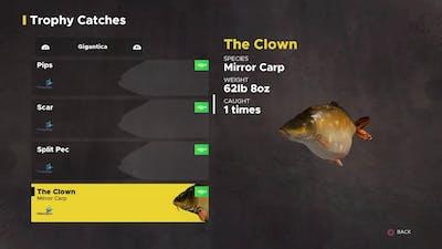 Fishing Sim World Gigantica Trophy's