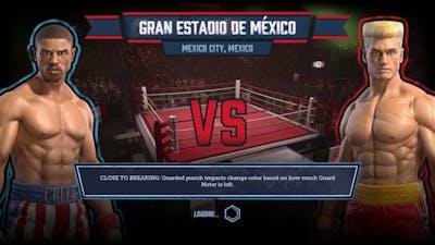 Big Rumble Boxing  Creed Champions   Adonis Creed VS Ivan Drago (PC60 Fps 1080P)