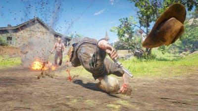 Dynamite & Fire Bottle Gameplay #19 - Red Dead Redemption 2