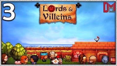 LORDS & VILLEINS Gameplay Español - Fin del tutorial
