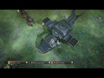 HELLDIVERS - Ac22 Dum Dum Vs Bugs Boss