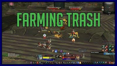 Farming trash