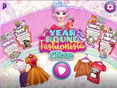 Year Round Fashionista Eliza game play