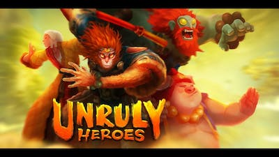Attempting To Finish The Game (Unruly Heroes)