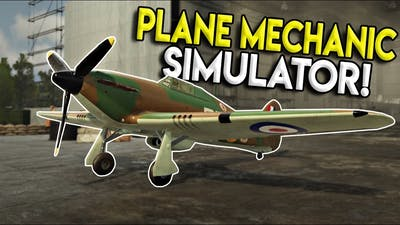 WAR THUNDER MEETS CAR MECHANIC SIMULATOR! - 303 Squadron: Battle of Britain Demo Gameplay