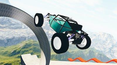 RC Cars Jumps And Falls - BeamNG drive