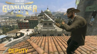 Dying Light Deputy Vintage Gunslinger Bundle (2017) Gameplay
