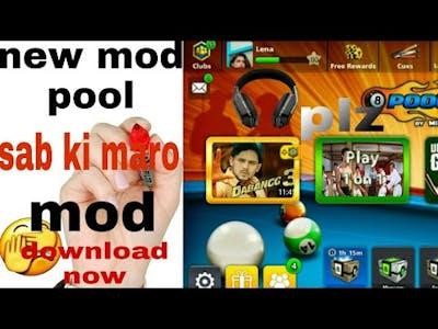New mod for #8 #boll #pool #games  ma koi jhut nhi bol rha hu please blive me #pool #🎱 #🎱 🎊