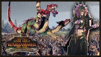 Hellebron's Invasion Of Norsca - Total War: Warhammer 2 Gameplay