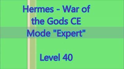 Hermes - War of the Gods CE Level 40