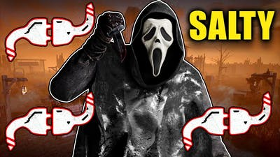 Ghostface Makes Salty Teams RAGE QUIT! - Dead by Daylight