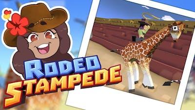 Let's Build a Stampede Zoo Ya'll!! 🦓🦓🦓 Rodeo Stampede: Sky Safari Zoo