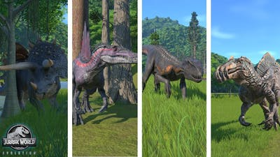 8 All Hybrids - Jurassic World Evolution (1080p)