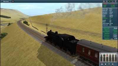 Trainz Race : Garsdale - Hawes Return w/ Ben ft. Mak Part 1