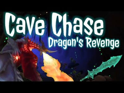 Cave Chase: Dragon's Revenge // Fitness Game Brain Break **sequel to Castle Chase