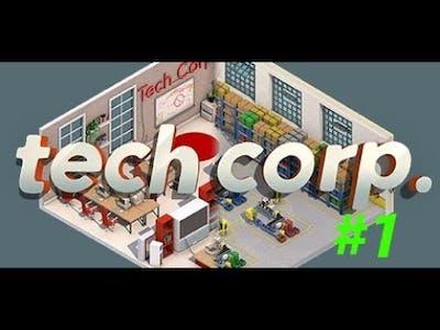 Tech corp. gameplay 1 on gtx 860m