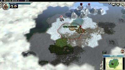Let's play Civilisation V G&K - Survival (Immortal/Ethiopia) - 001