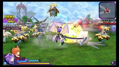 Hyperdimension Neptunia U: Action Unleashed - Quick Random Gameplay
