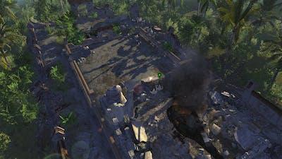 Men of War Vietnam - Bonus campaign walkthrough - Mission 2 - Survivor 1/2