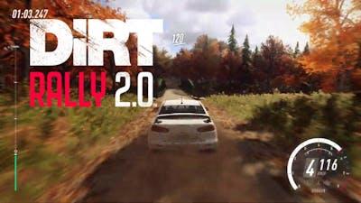 Dirt Rally 2.0   Mitsubishi Lancer EVO X   Rally New England   Gameplay [1080p]