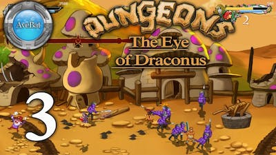 Let's Play Dungeons - The Eye of Draconus part 3 Smurfs END