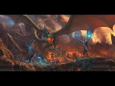 ESO Magicka Dragonknight Battlegrounds Gameplay pt. 1