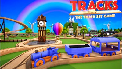 WE BUILT A TOWN IN TRACKS THE TRAIN SET GAME