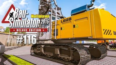 Bau-Simulator 2015 Multiplayer #116 - Sportplatz für die Schule! CONSTRUCTION SIMULATOR Deluxe