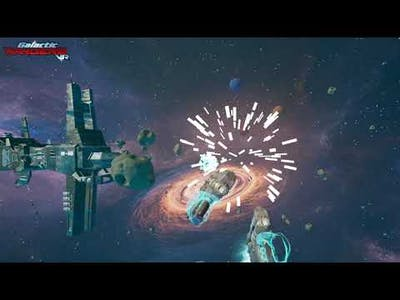 Gameplay and Intro to Galactic Rangers VR