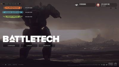 BATTLETECH Ep. I: Bro, do you even BATTLETECH?  game play and mission run through.