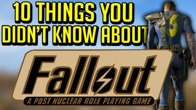 10 Things You Didn't Know About Fallout: A Post Nuclear Role Playing Game (Fallout 1)