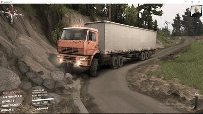 spintires aftermath dlc /the hill map gameplay
