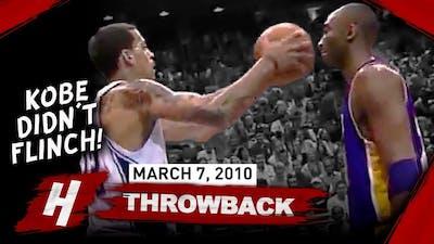 The Game Kobe Bryant Didn't FLINCH When Matt Barnes TRIED HIM 2010.03.07 - CRAZY Full Highlights!