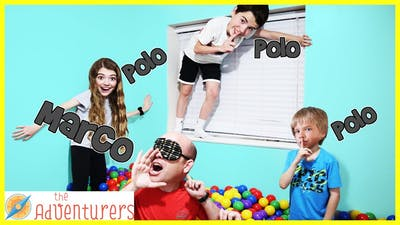 Giant Ball Pit Marco Polo - Last One Tagged Wins / That YouTub3 Family I The Adventurers