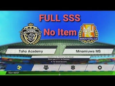 First Full Time Match No Skills/Items Full SSS! [WR] No ++ Item Run!