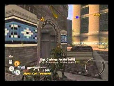 PS2 Full Spectrum Warrior Ten Hammers chapter 2 Art of War part 2 of 3.avi
