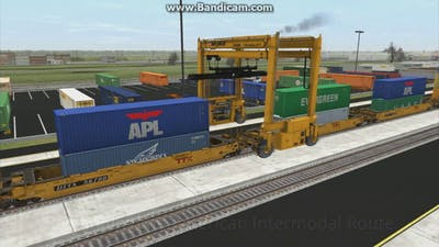 Trainz: A New Era - Railfanning JR's American Intermodal Route
