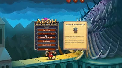 Let's Play ADOM: Creator's Day Special in Ancient Domains of Mystery