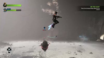 Playing Recore definitive edition