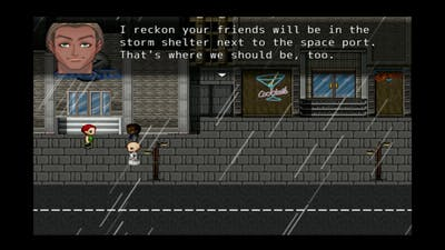 Space Pilgrim Episode III: Delta Pavonis (6/11), Act Two, Part 1: Viene la Tormenta!.