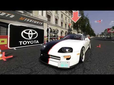 [Assetto Corsa] Toyota Supra TRD(DPWerkz) @Barcelona City Circuit
