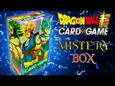 DRAGON BALL SUPER CARD GAME MISTERY BOX