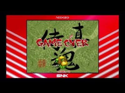Samurai Shodown Neogeo Collection Game Over