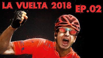La Vuelta 2018, Stage 2 [Hilly], Mitchelton Scott (PCM 2018)