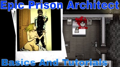 Prison Architect Full Game - Campaign Baisics With Griggsy Gaming #1