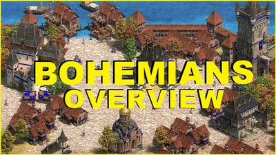 The civ that defeated the crusaders | AoE2 BOHEMIANS Overview