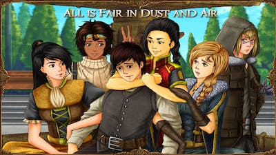 Visual Novel Games: All is Fair in Dust and Air August 2021 Monthly Report