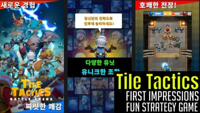 Tile Tactics - Battle Arena/First Impressions/Is It Legit/Fun Tactics Game