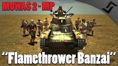 Men of War: Assault Squad 2 - Flamethrower Banzaiiii!! - Japan Multiplayer Gameplay